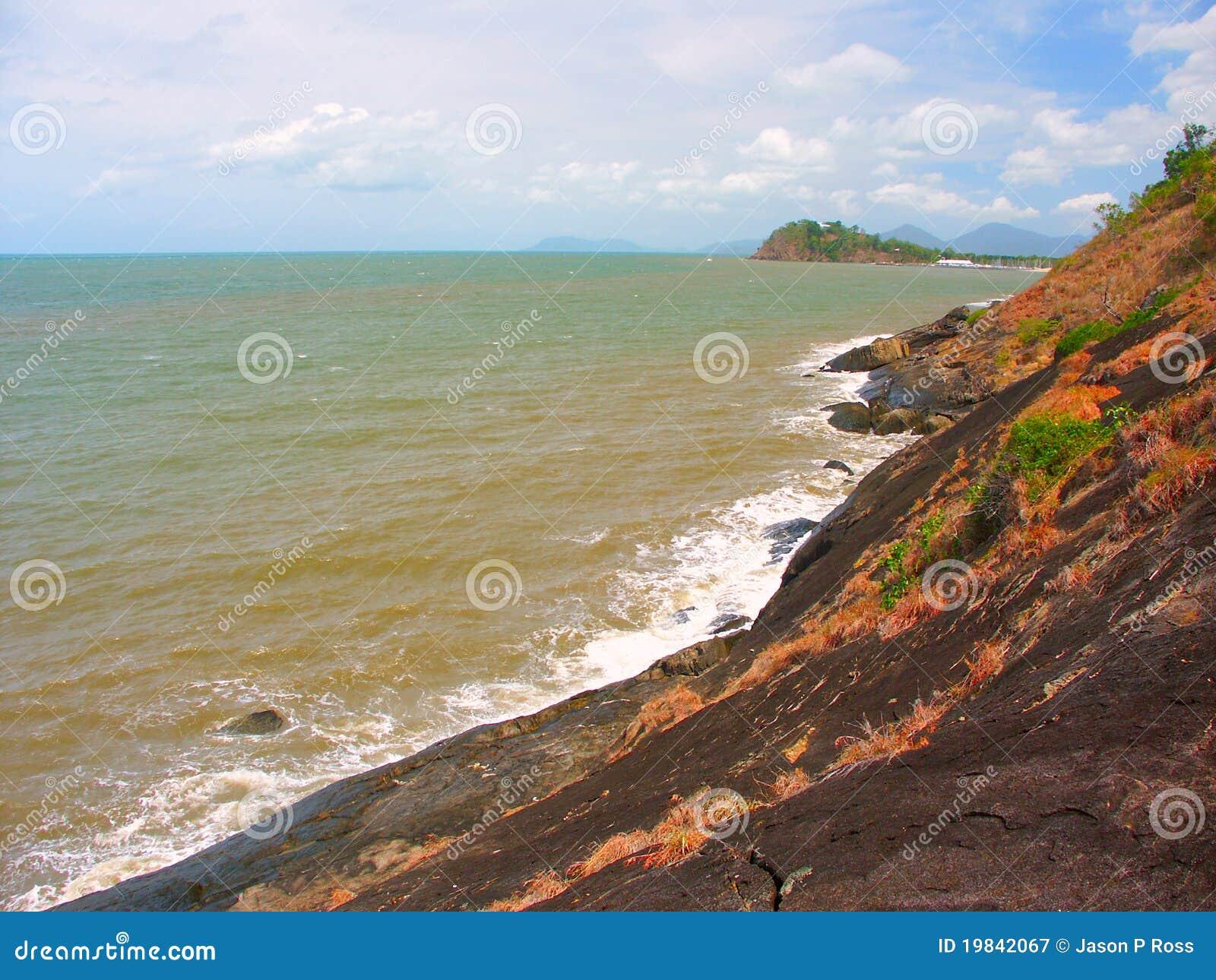 澳洲海滩昆士兰三位一体