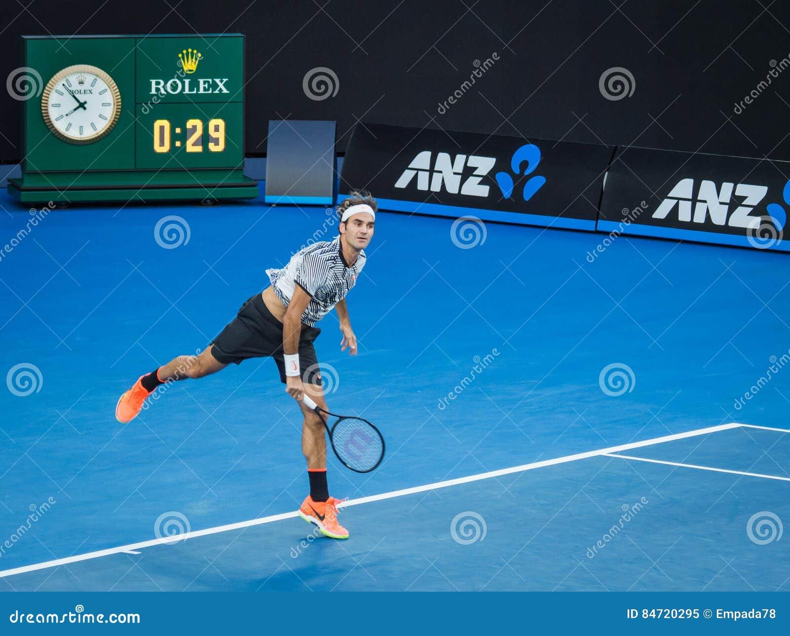 澳网2017年网球赛的罗杰・费德勒