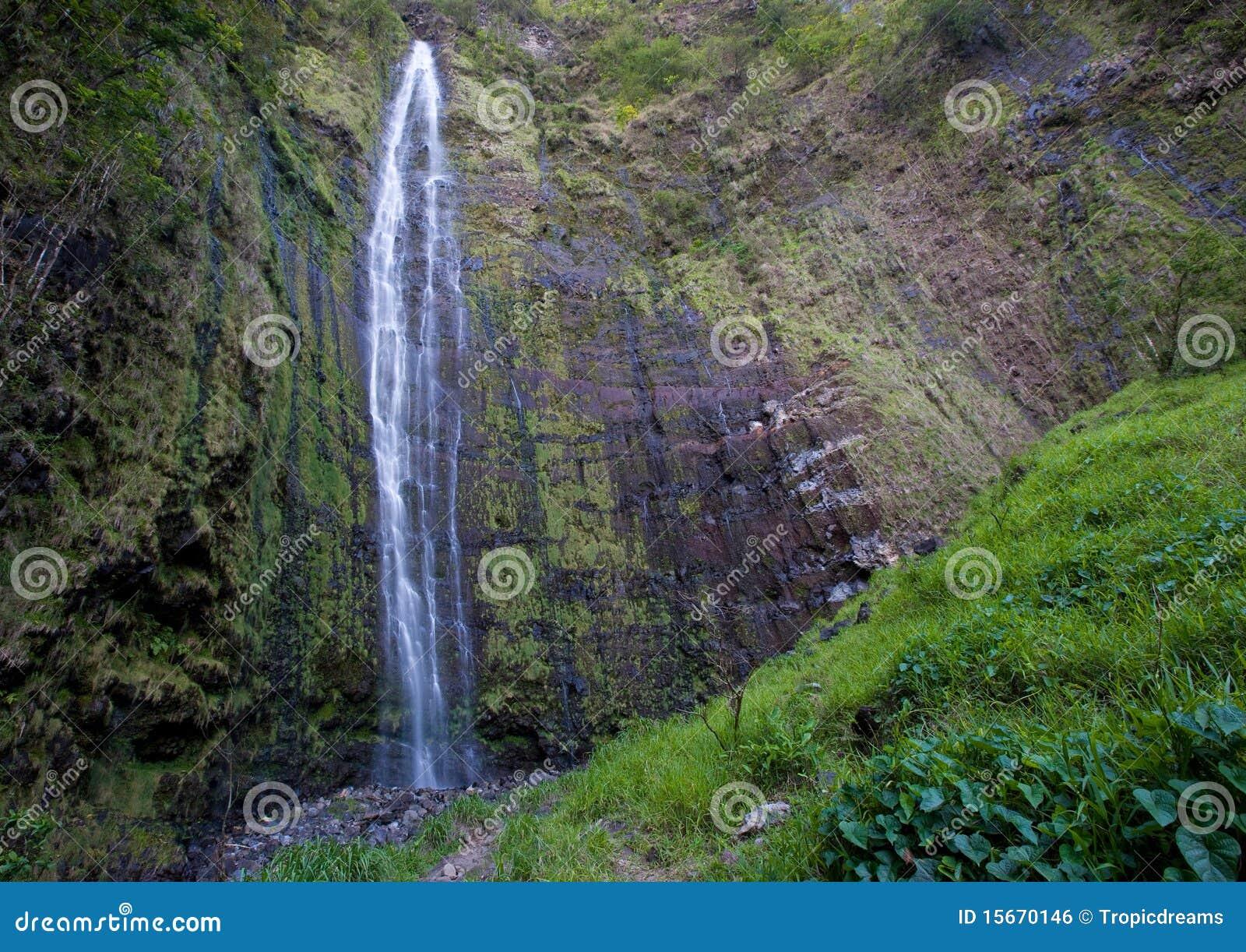 瀑布夏威夷