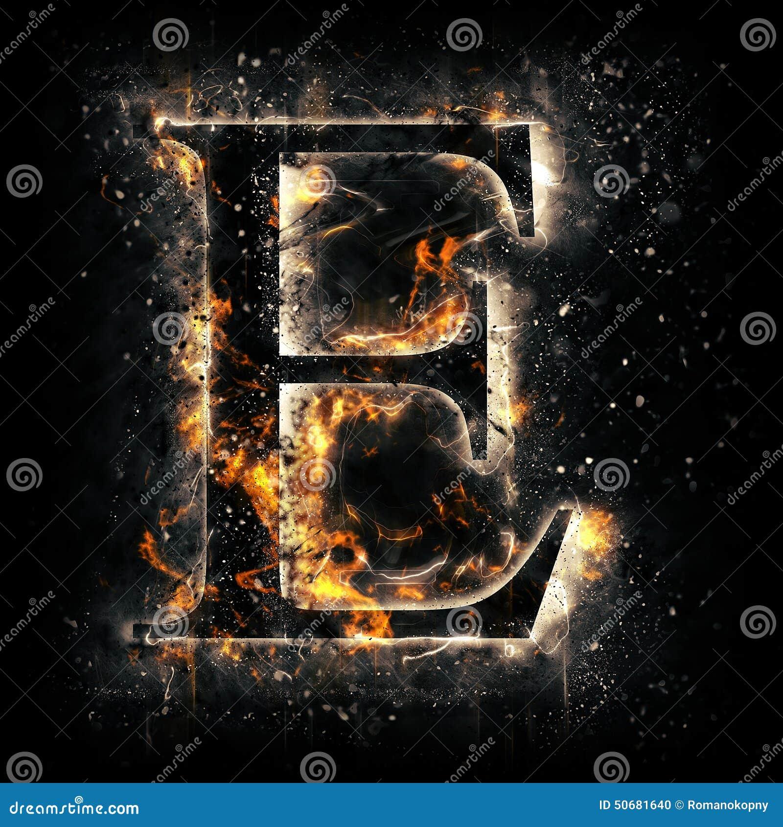 Download 火信件E 库存例证. 插画 包括有 照亮, 焕发, 红色, 魔术, 模式, 符号, 抽象, 易燃, 污点 - 50681640
