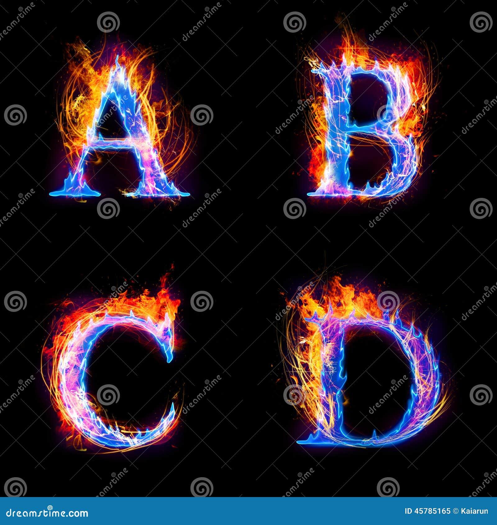 ��.d:-a:+�_火和冰发短信,大写字母, a到d字母表