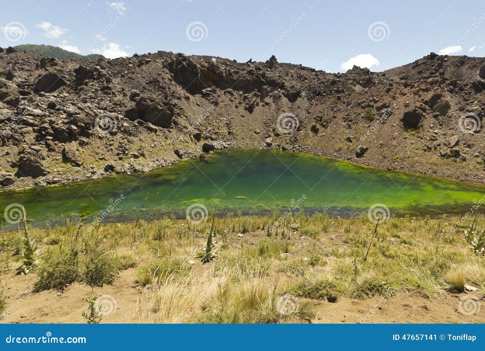 火山的风景,智利巴塔哥尼亚,智利