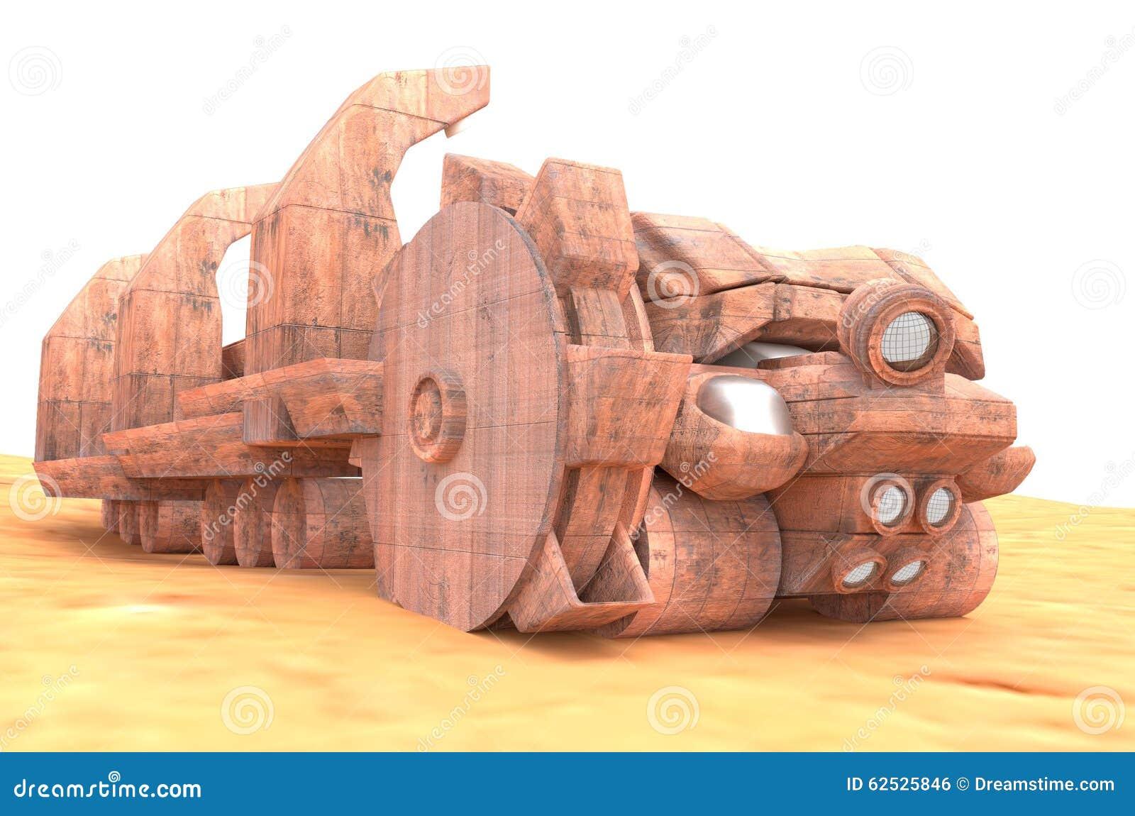 火星特别桶轮子挖掘机