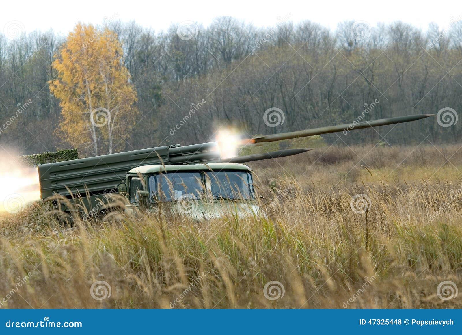 火炮系统BM-21