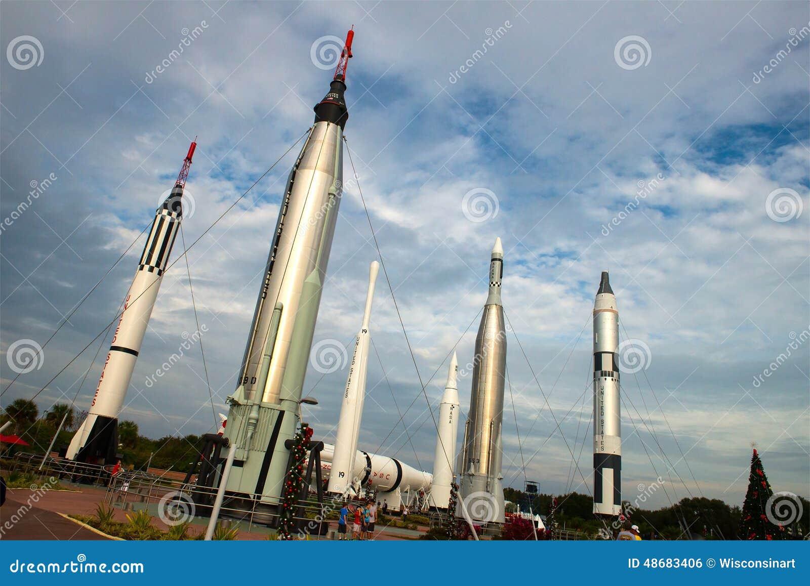 火箭队庭院,美国航空航天局肯尼迪航天中心