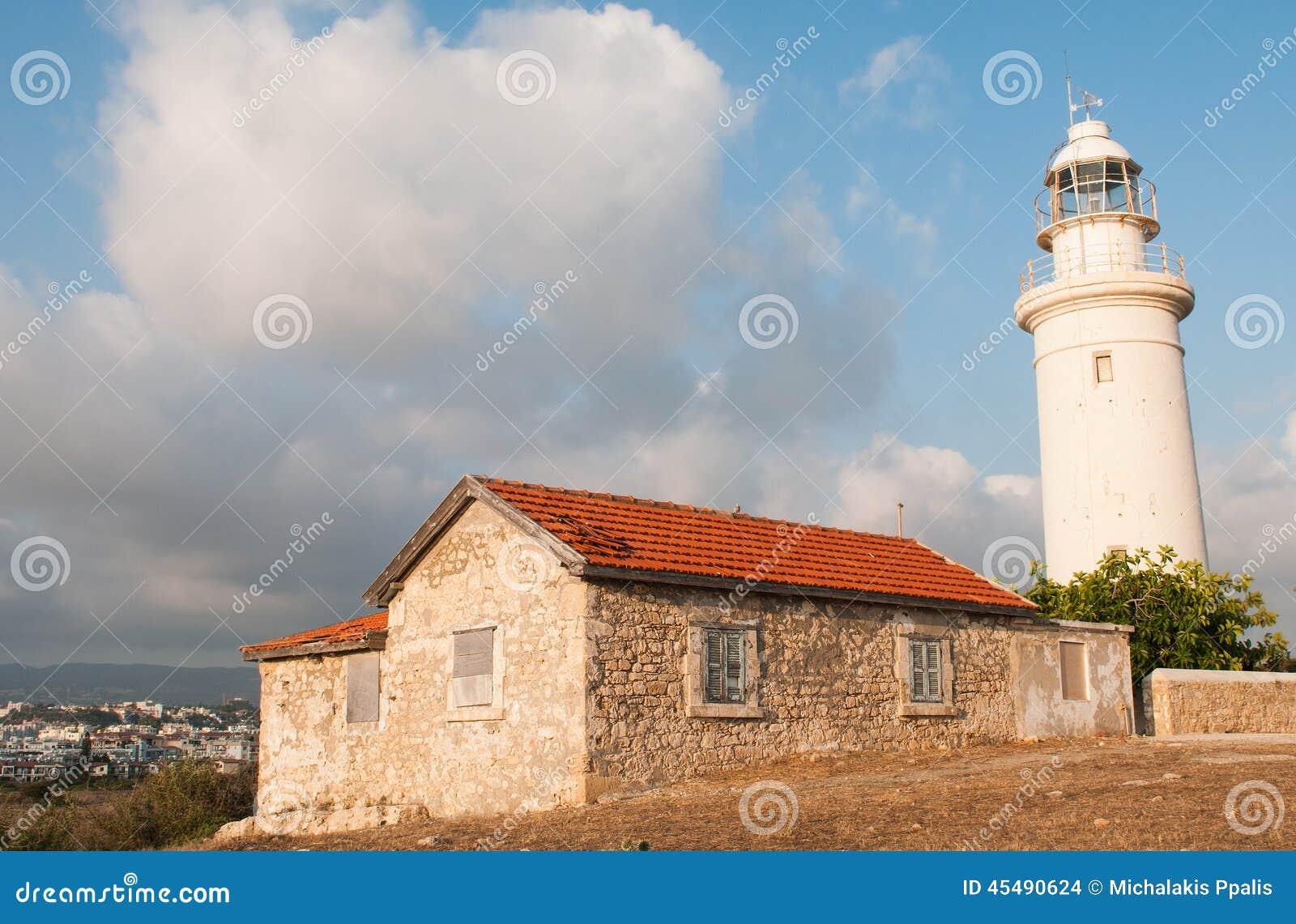 灯塔,帕福斯,塞浦路斯