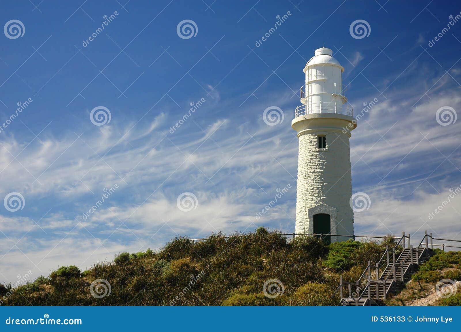 Download 灯塔 库存图片. 图片 包括有 小山, 方向, 警告, 灯塔, 登陆场, 地标, 台阶, 定位, 海岛 - 536133