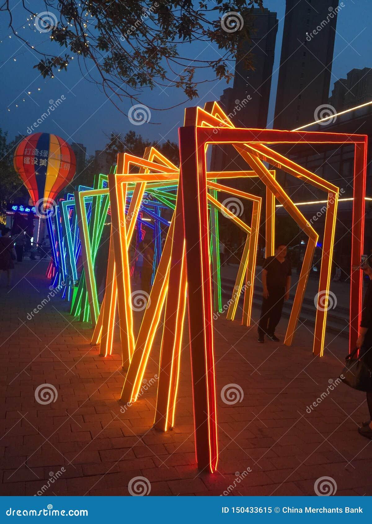 灯笼在天津,中国