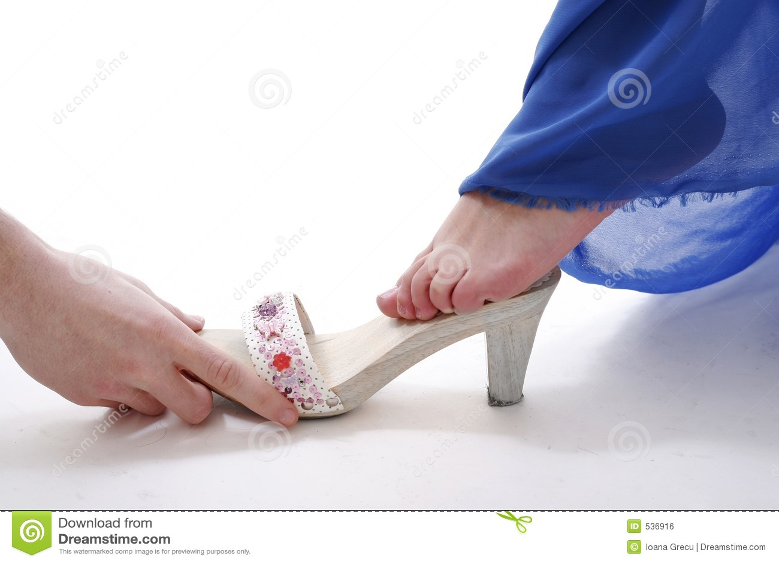 灰姑娘鞋子