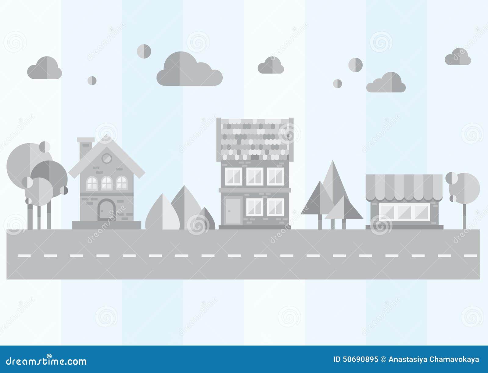 Download 灰色城市 向量例证. 插画 包括有 线路, 布琼布拉, 城市, 平面, 成象, 地区, 图象, 拱道, 套印 - 50690895