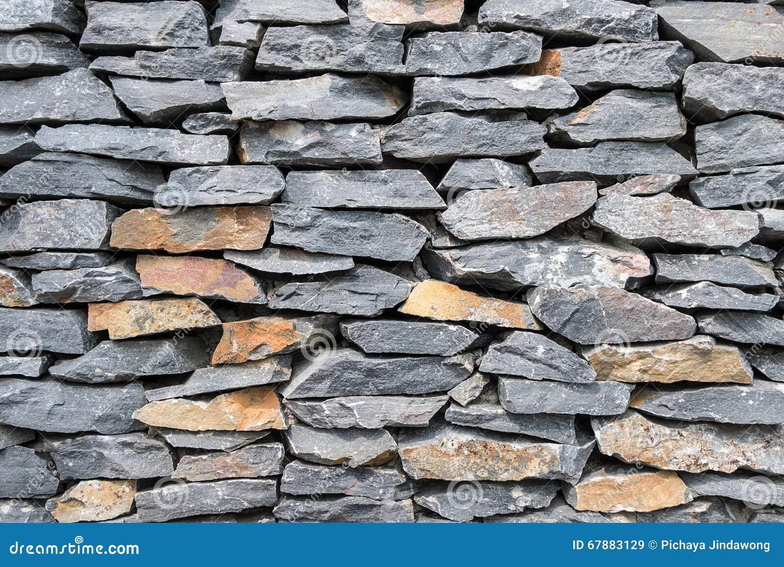 灰色岩石墙壁纹理