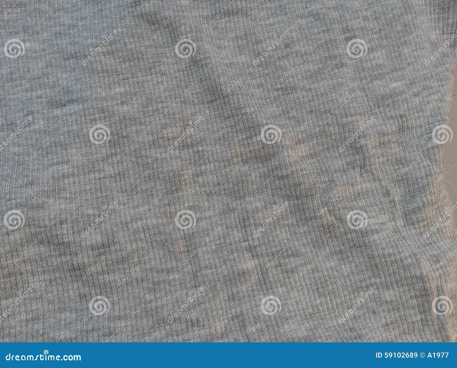 灰色织品表面