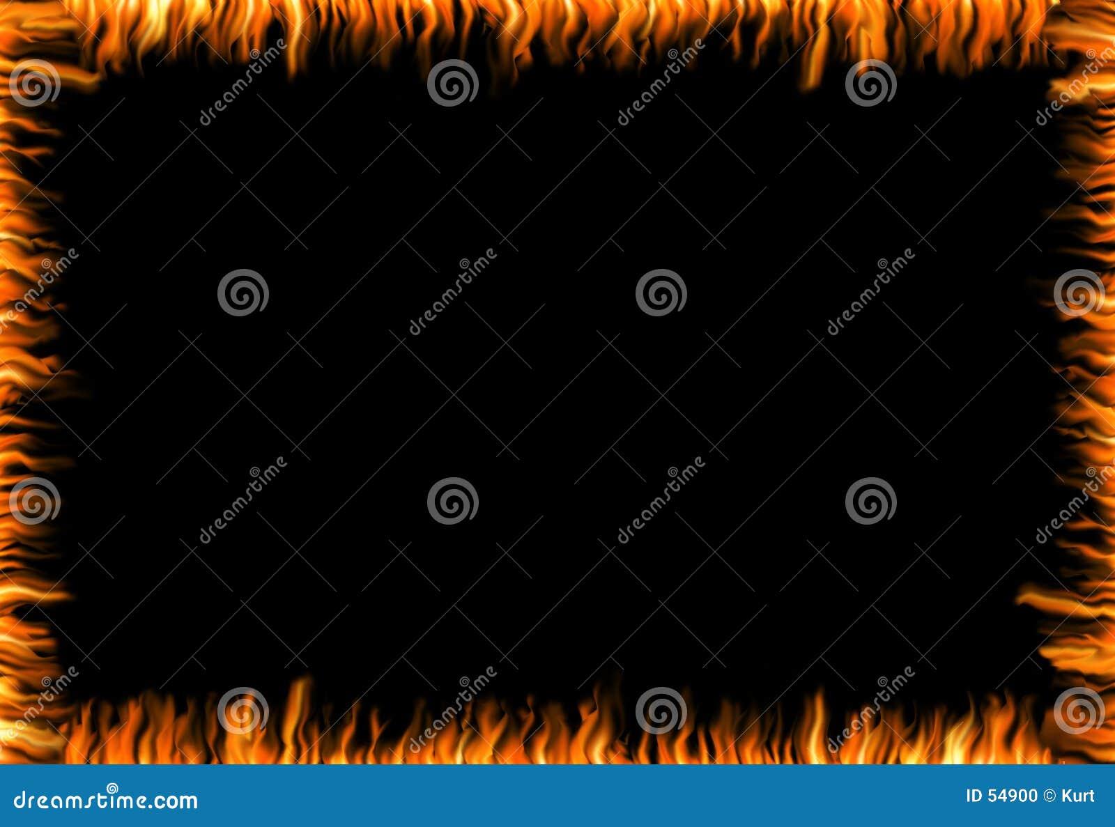 灼烧的框架