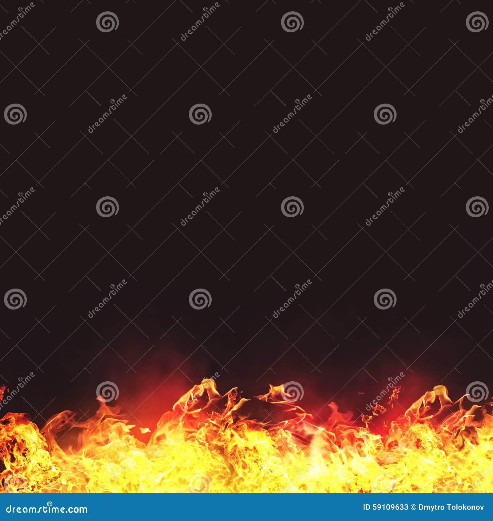 灼烧的火焰