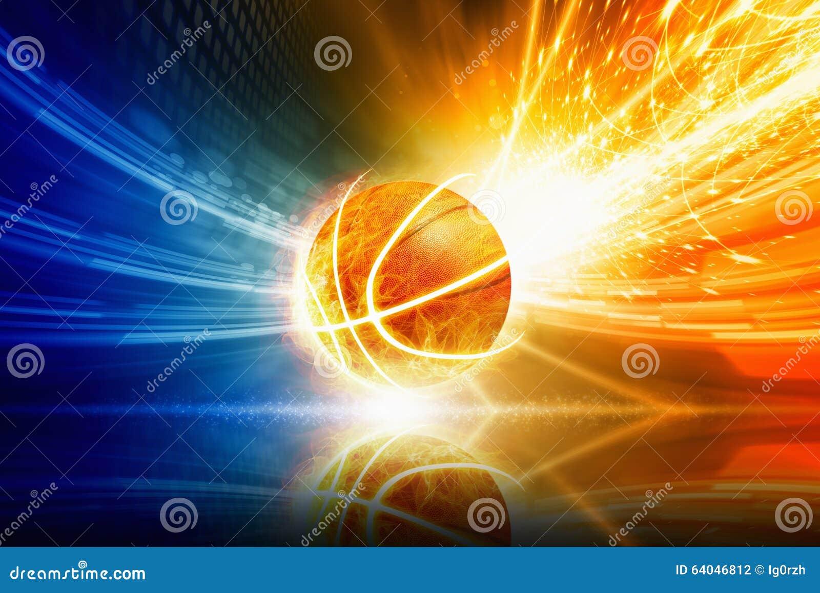 灼烧的篮球