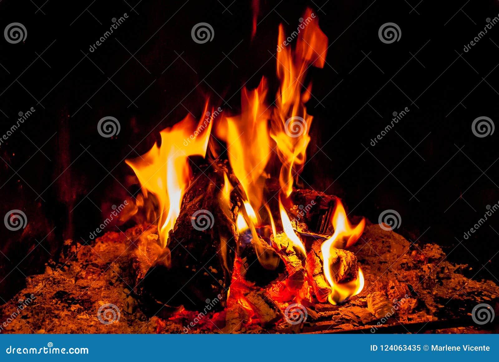 烟囱火给热