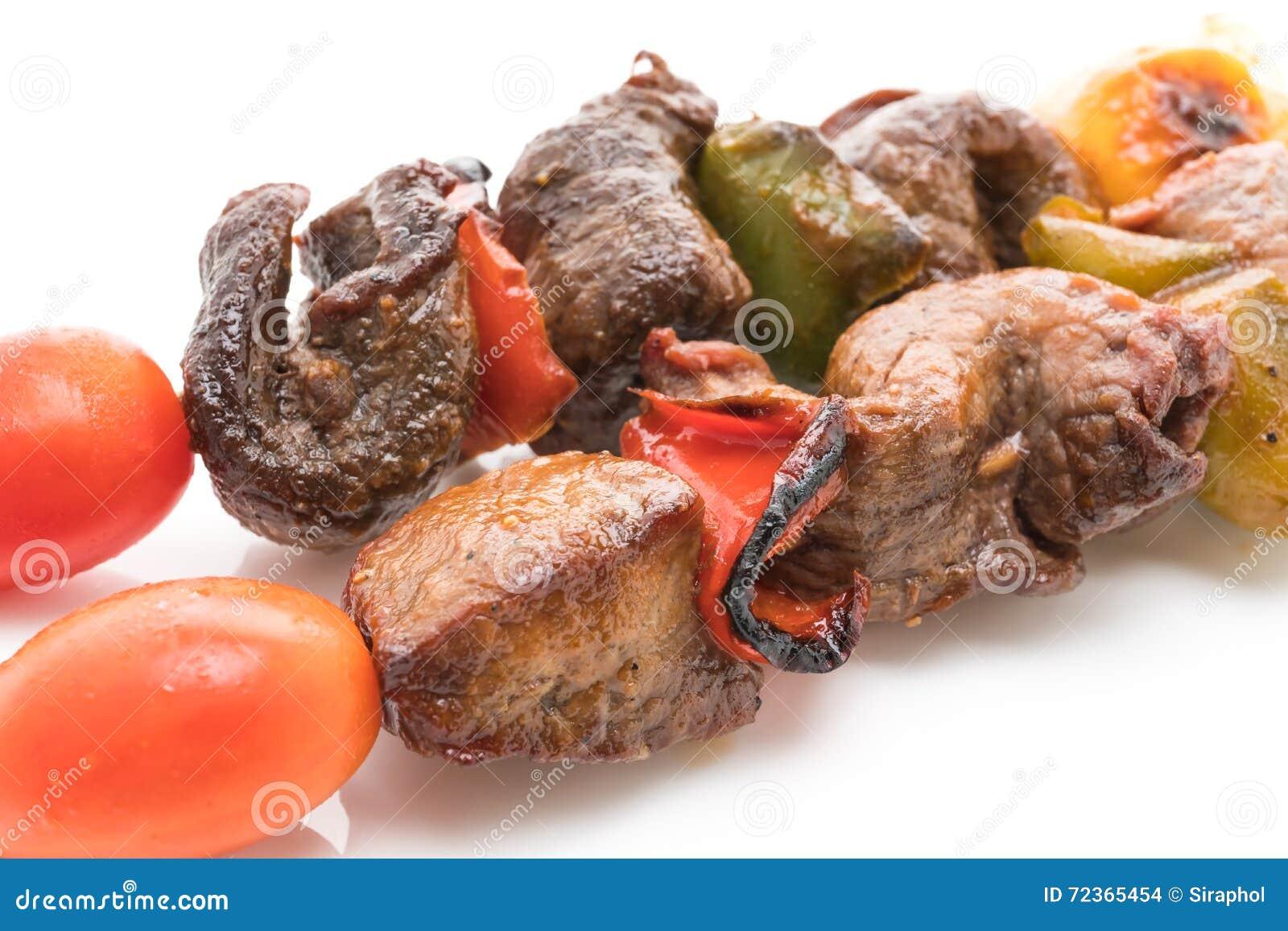烤牛肉bbq棍子
