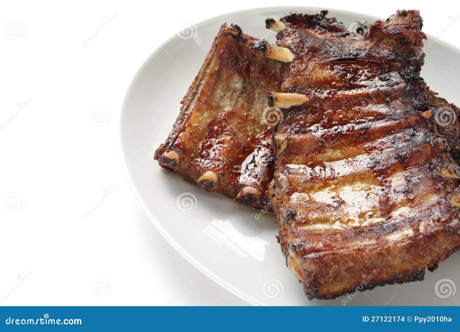 烤猪肉排骨