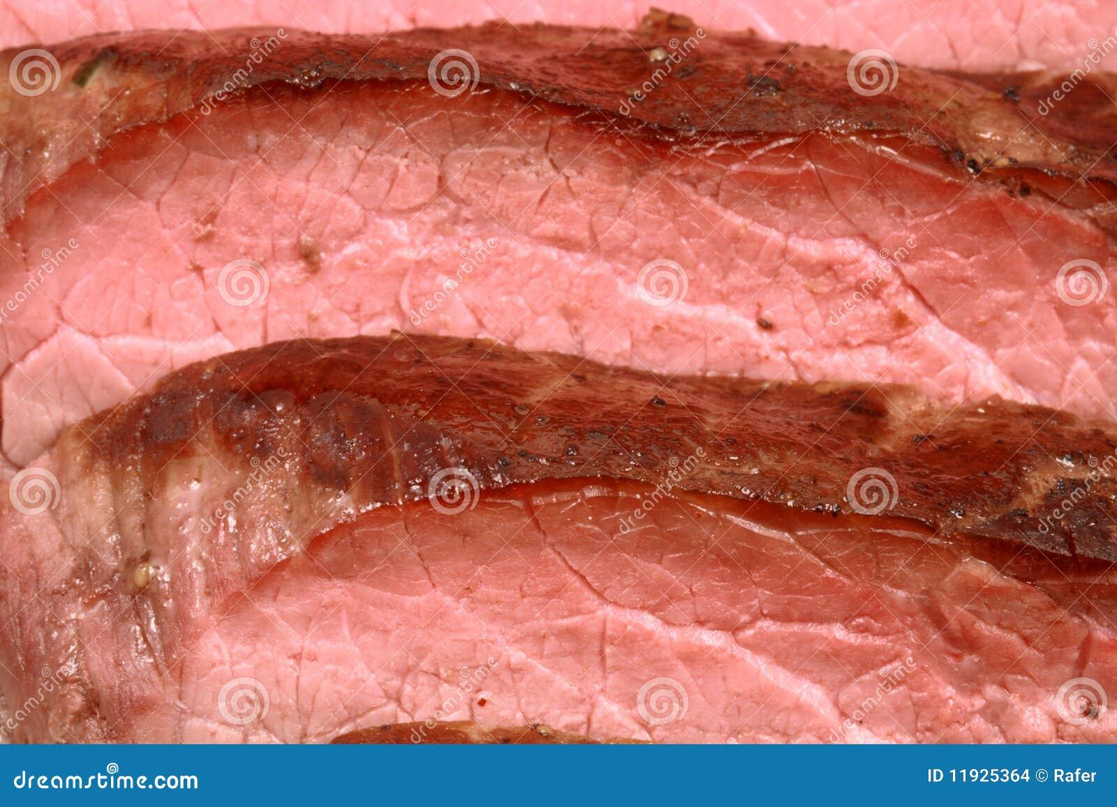 烤的牛肉丢失嫩