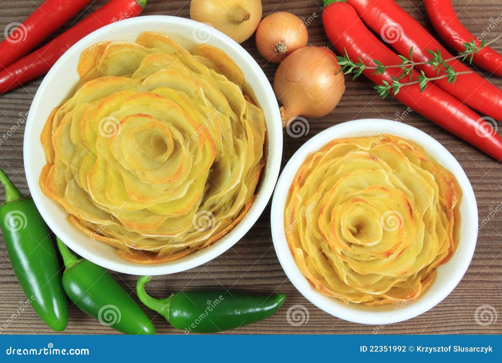 烤的酥脆土豆