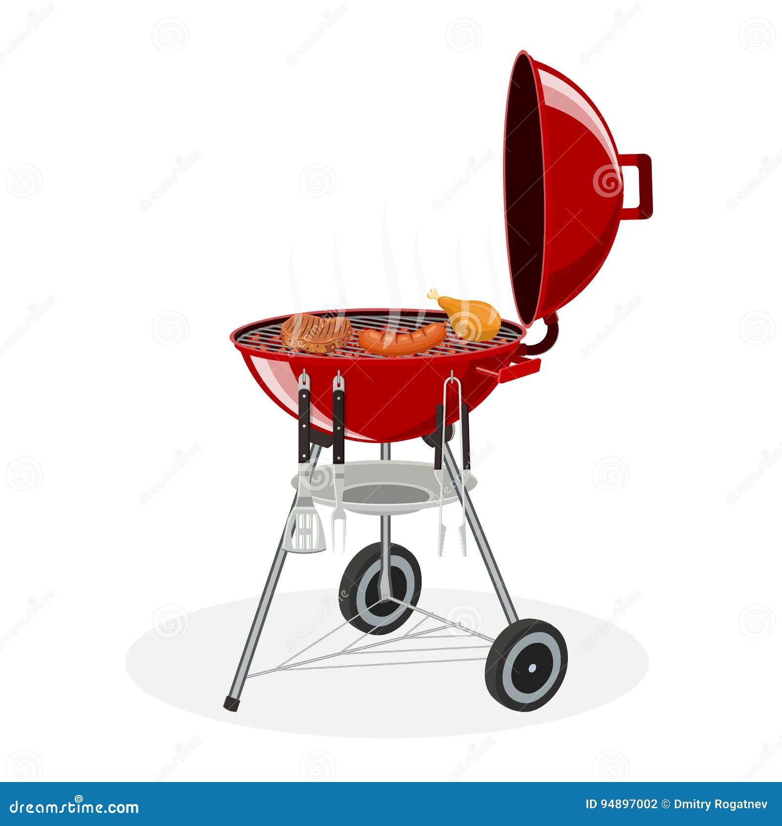 烤肉格栅查出 野餐野营的烹调