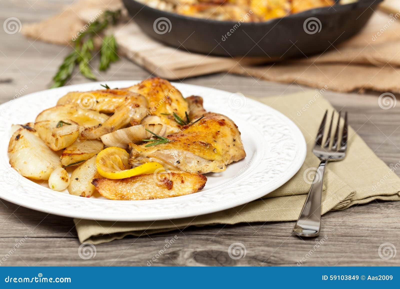 烤鸡用大蒜