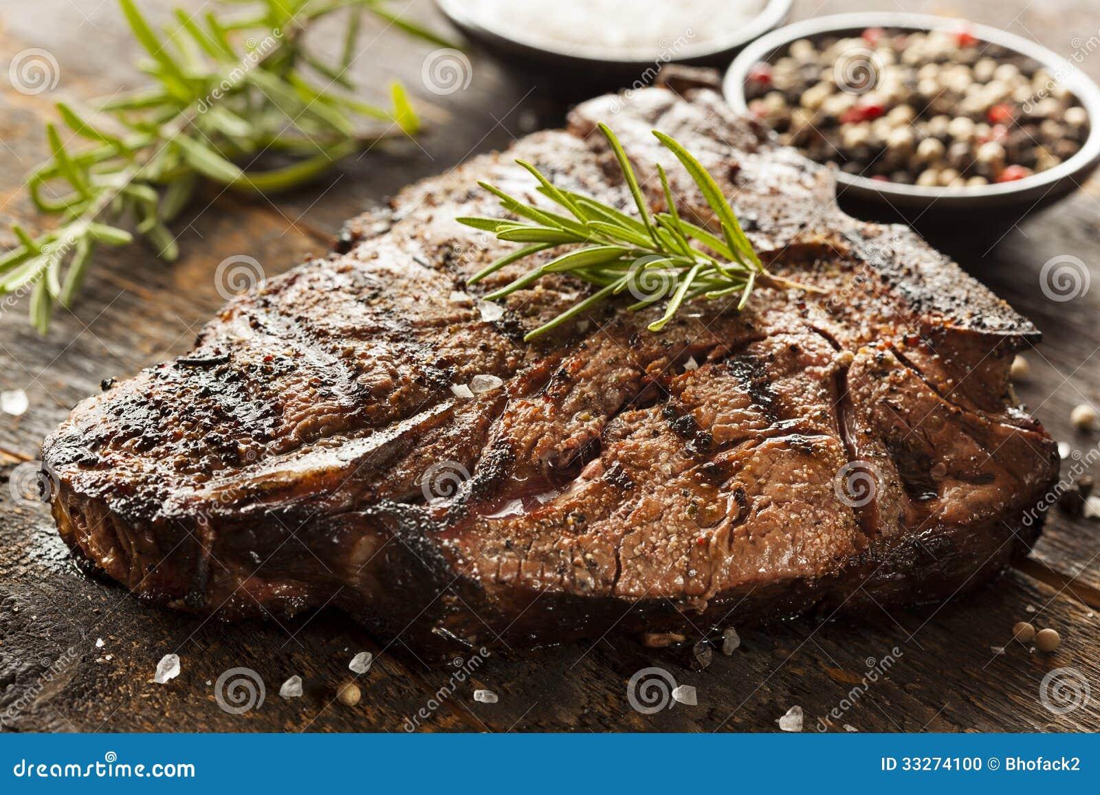 烤BBQ丁骨牛排