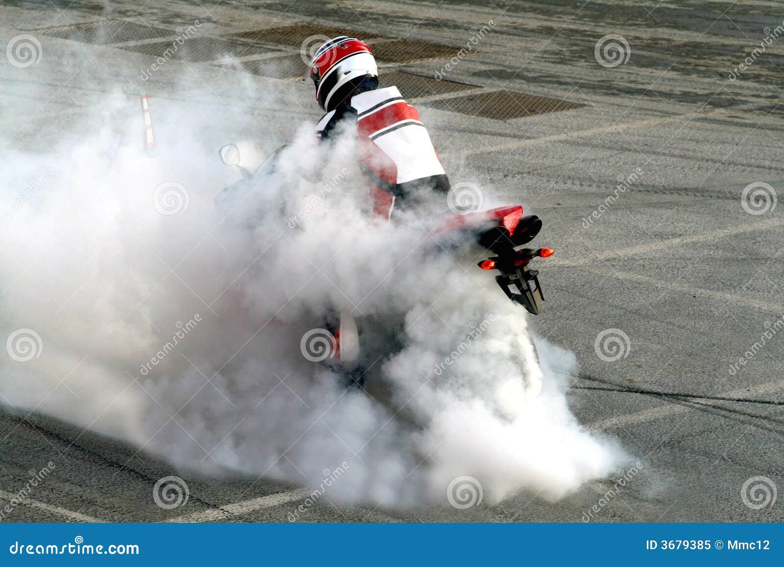 烧坏摩托车