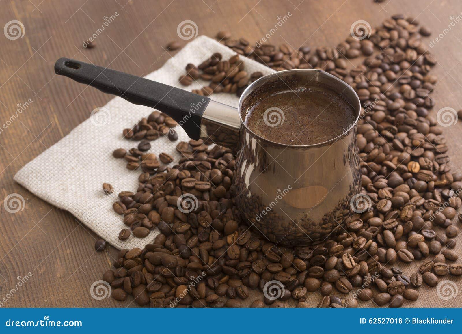 热做的咖啡