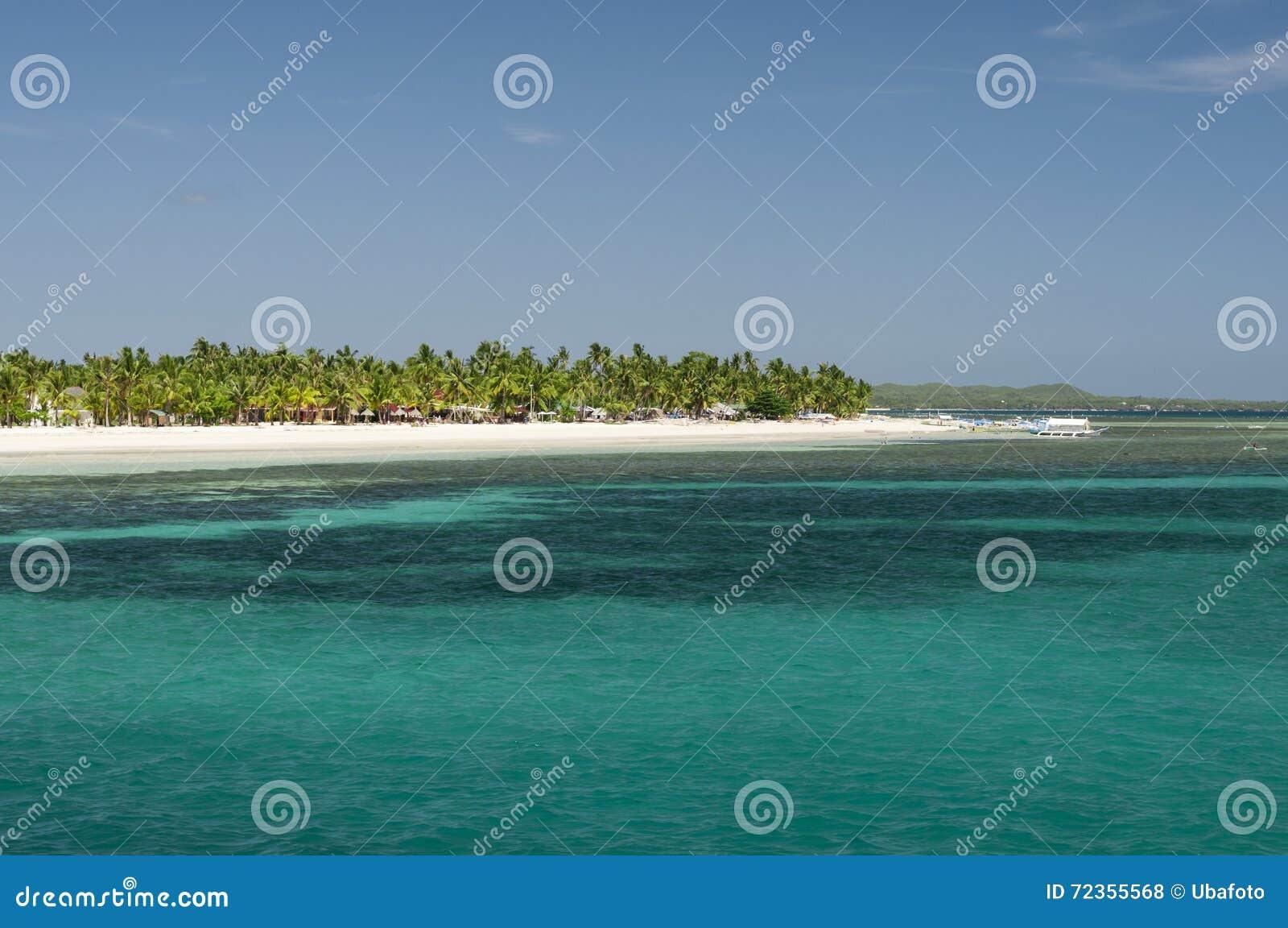 热带的海岛