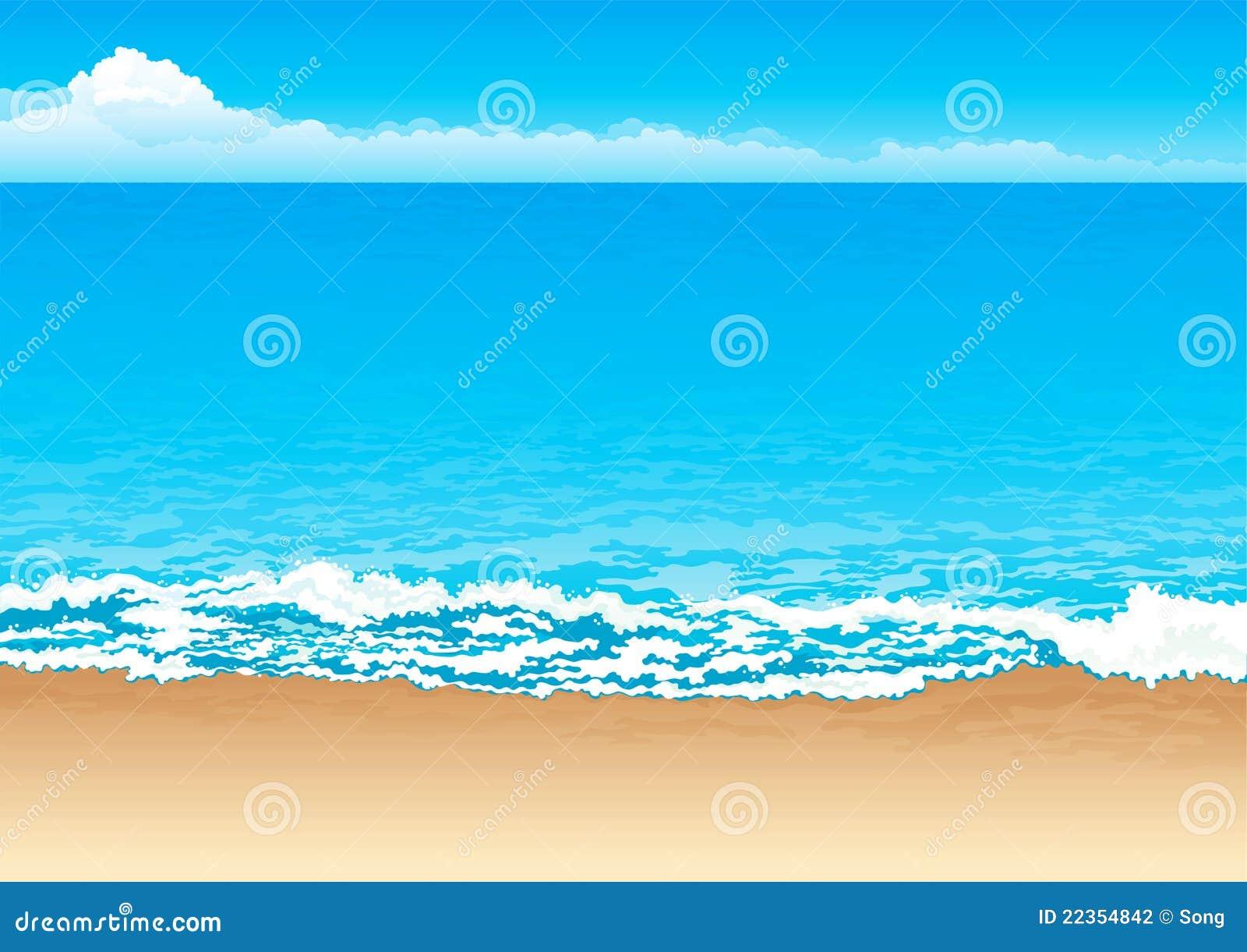 热带的海岸