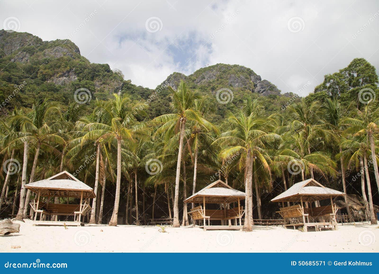 Download 热带的海滩 库存图片. 图片 包括有 菲律宾, 海岛, 热带, 火箭筒, 掌上型计算机, 小屋, 风雨棚 - 50685571