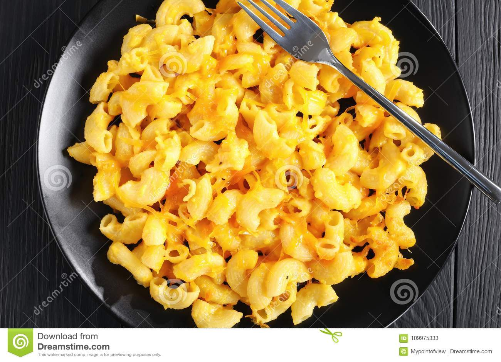 热的Mac和乳酪的可口部分