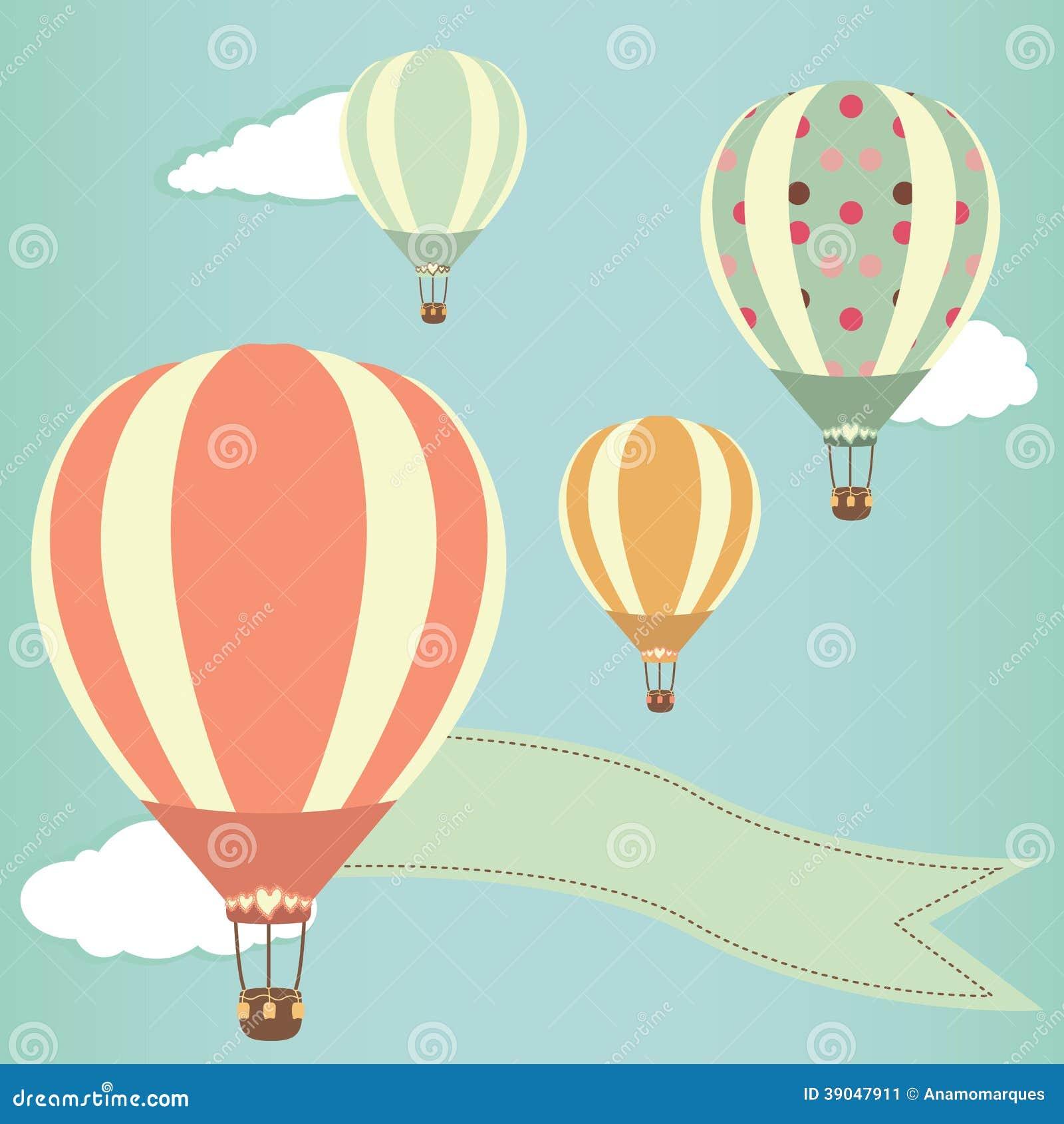 热空气气球 向量例证 图片 39047911