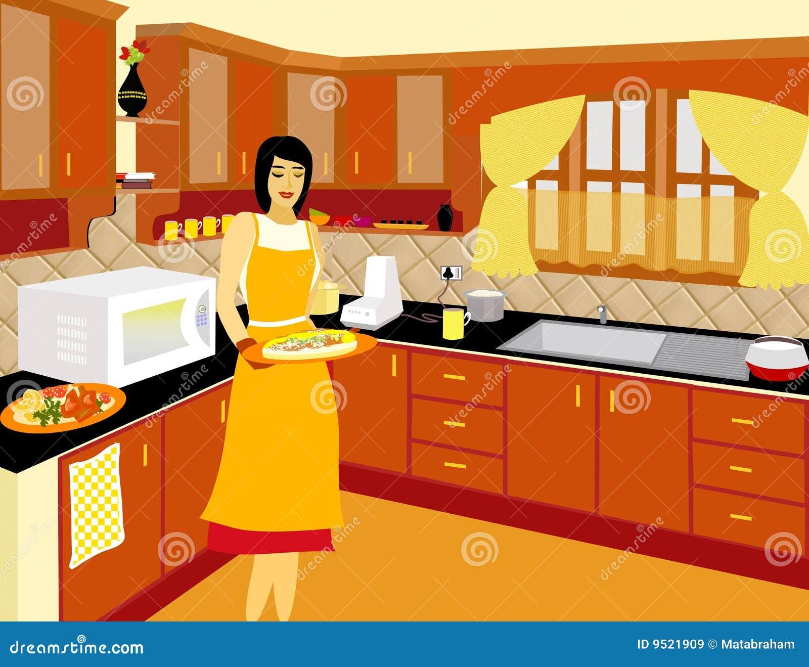 烹调家庭最终的主厨