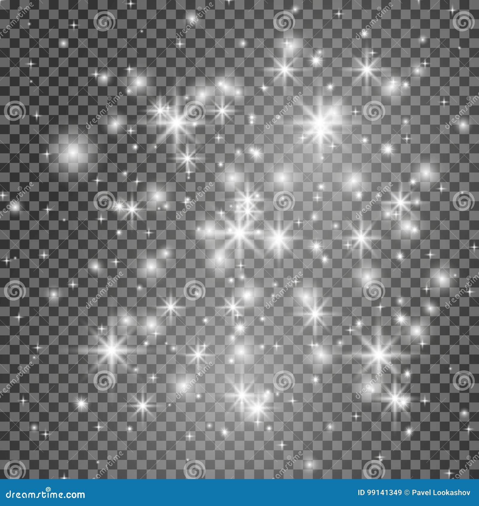 焕发光线影响 也corel凹道例证向量 圣诞节一刹那概念
