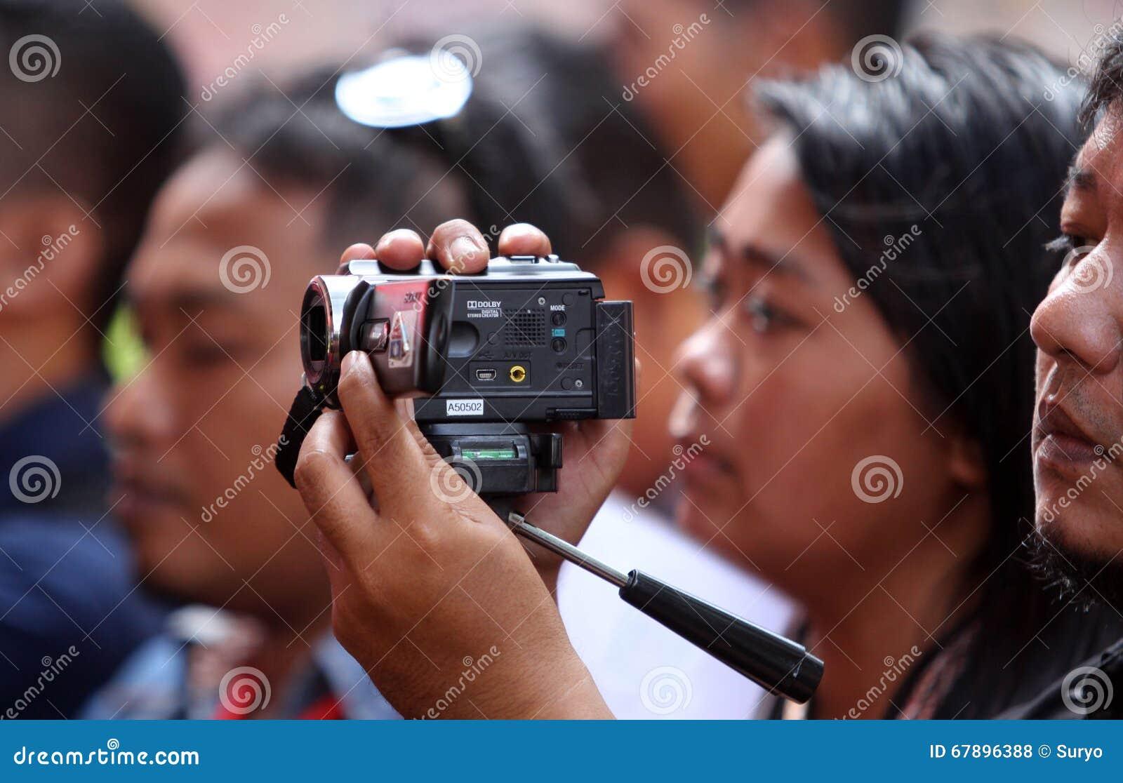 照相机数字式录影