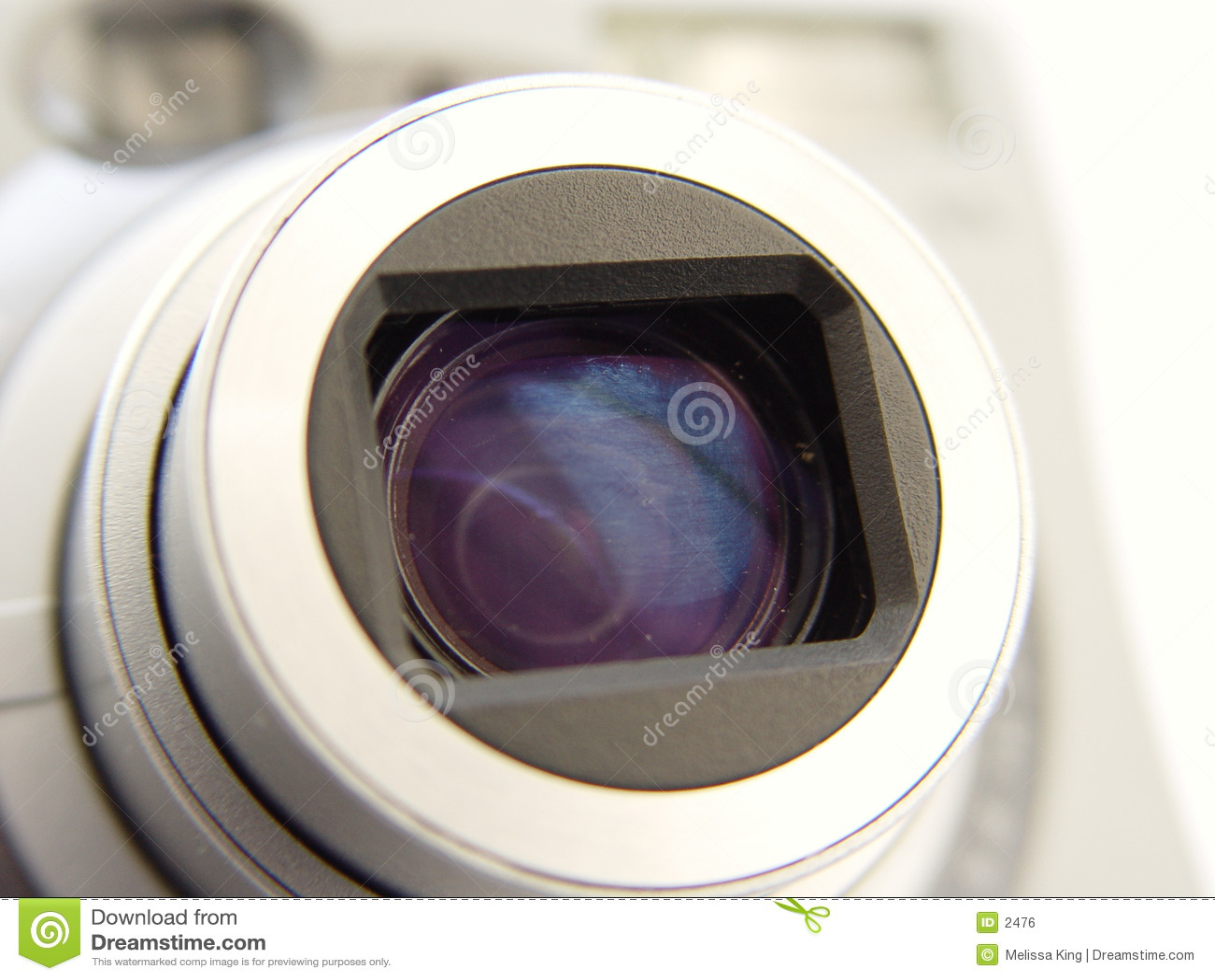 照相机特写镜头len