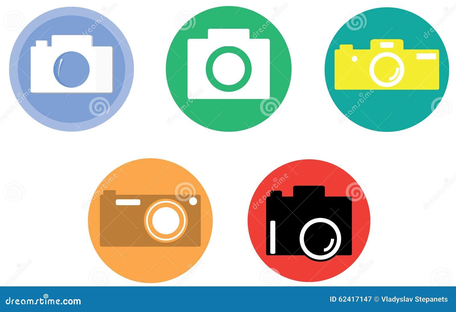 照相机 照相机图标设置了