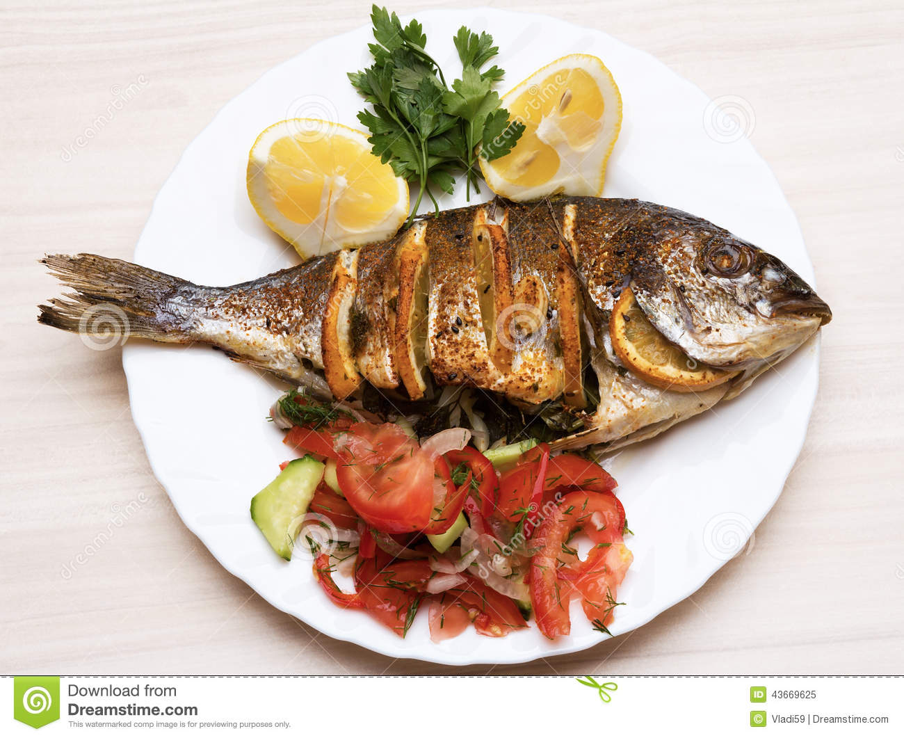 43669625 for Dreaming of eating fish