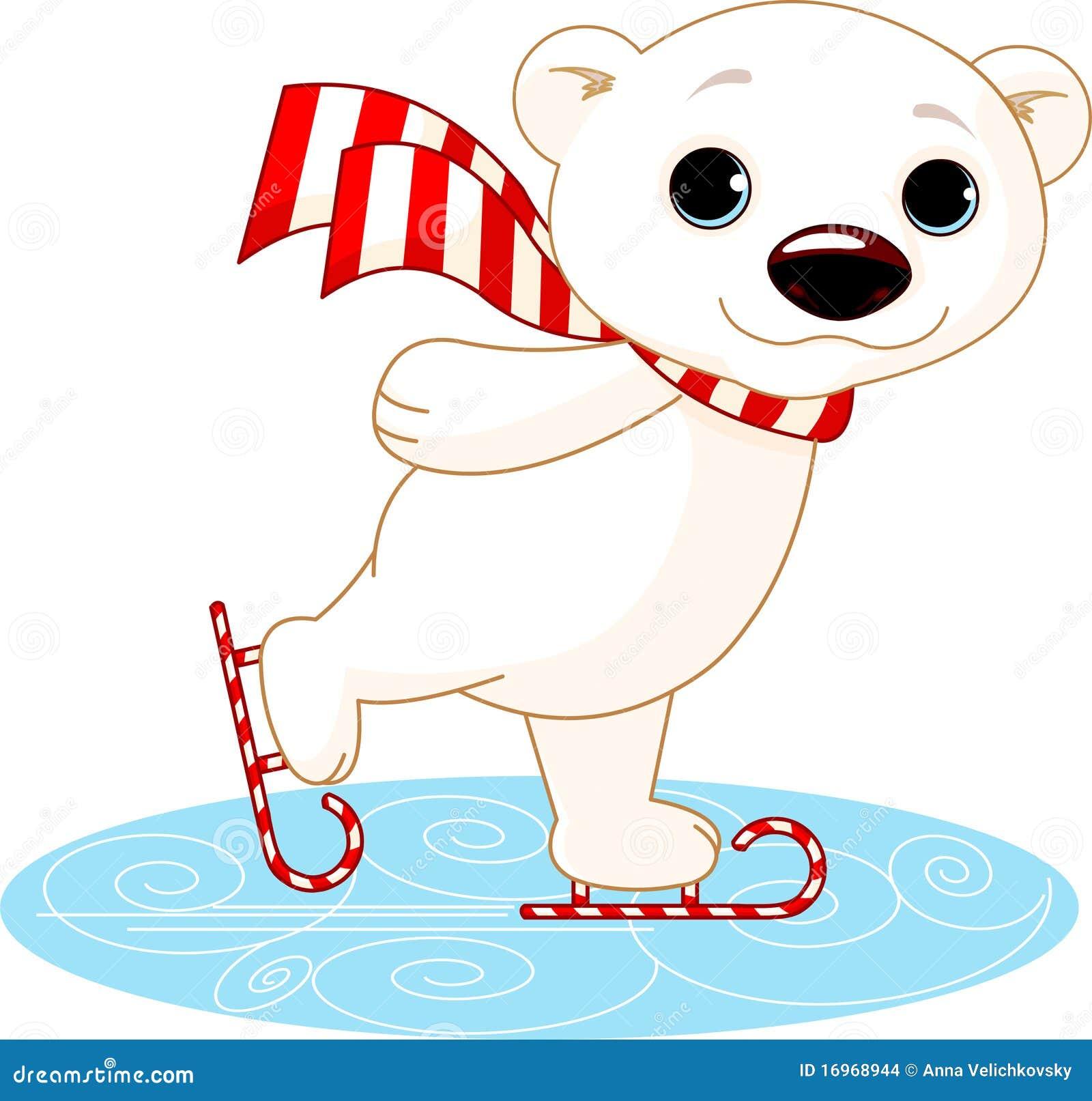熊冰极性冰鞋