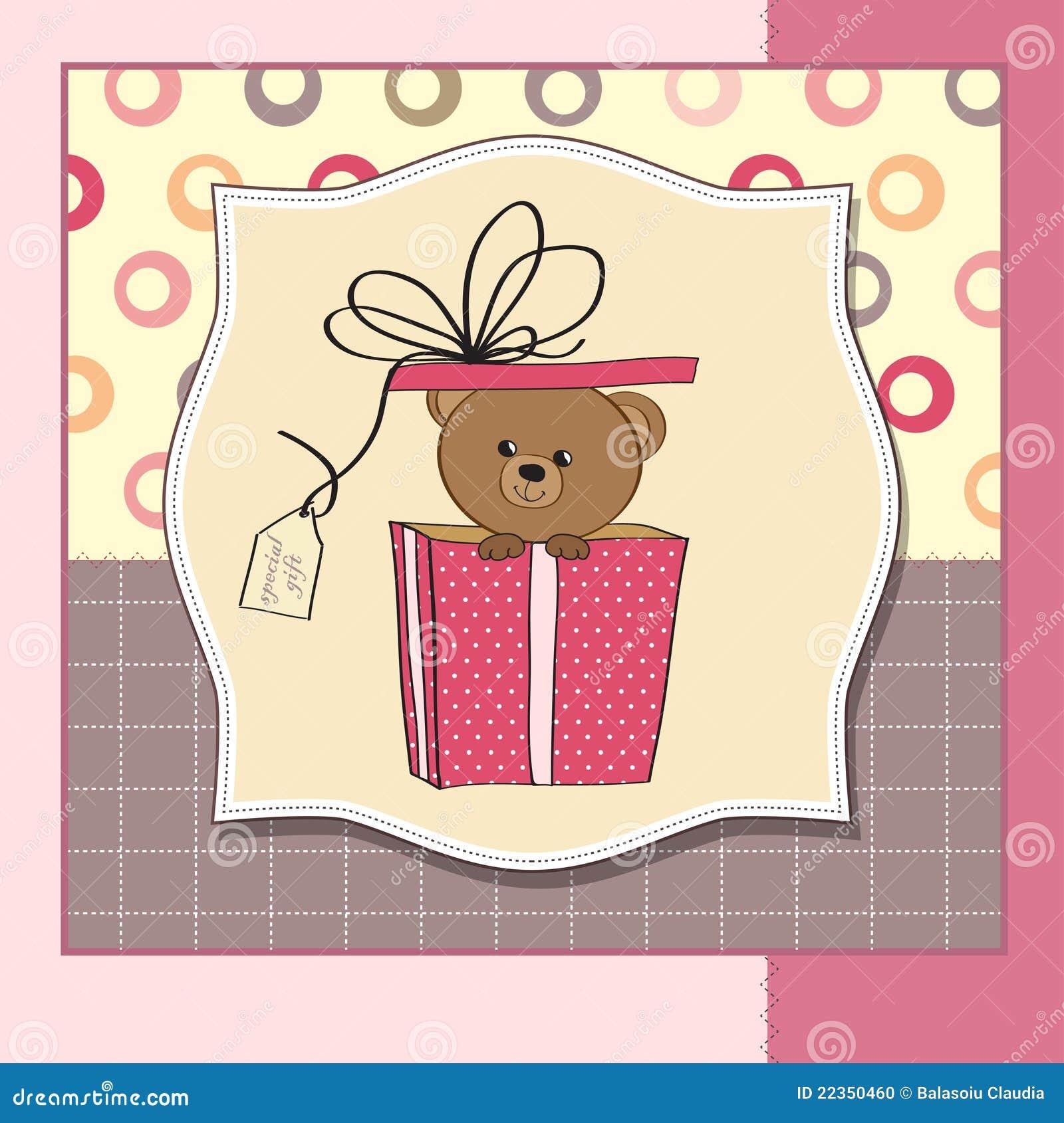 熊看板卡逗人喜爱的问候女用连杉衬&#
