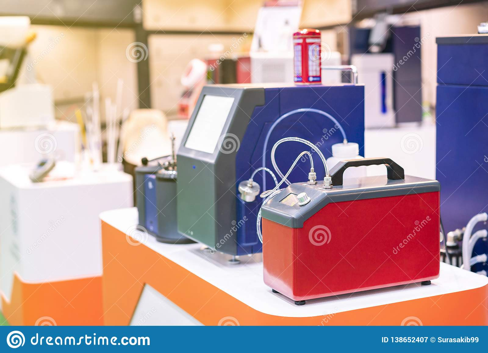 燃料润滑剂液体&空气样品设备分析测试器的高技术和自动迅速微粒计数ro含量