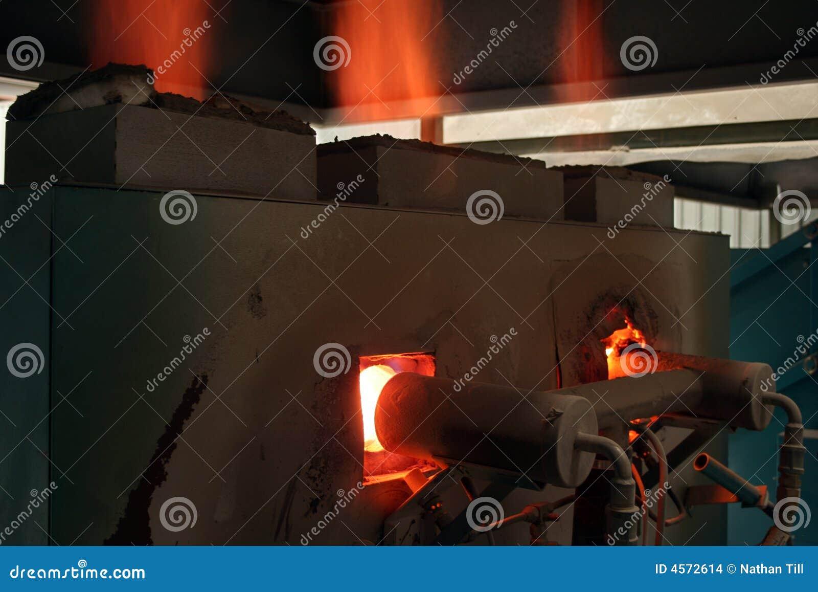 燃烧器气体窑