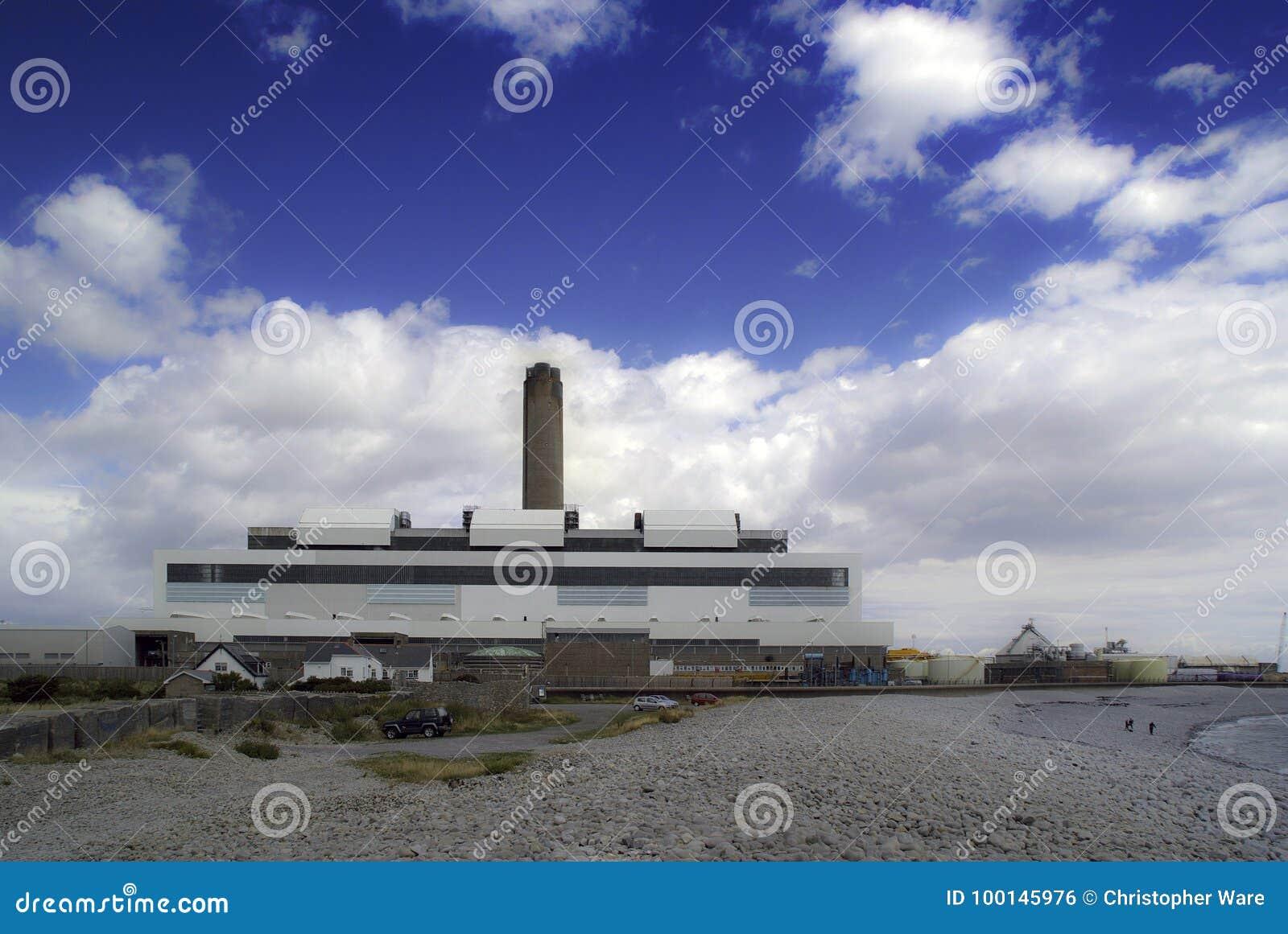 燃煤电能源厂