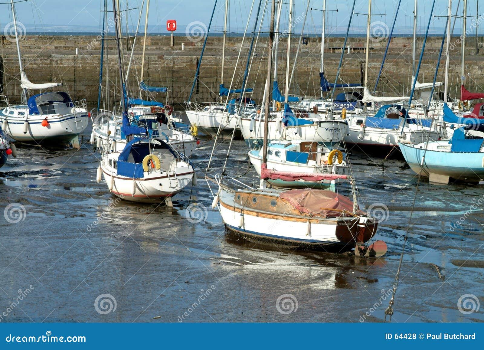 爱丁堡钓鱼海港苏格兰