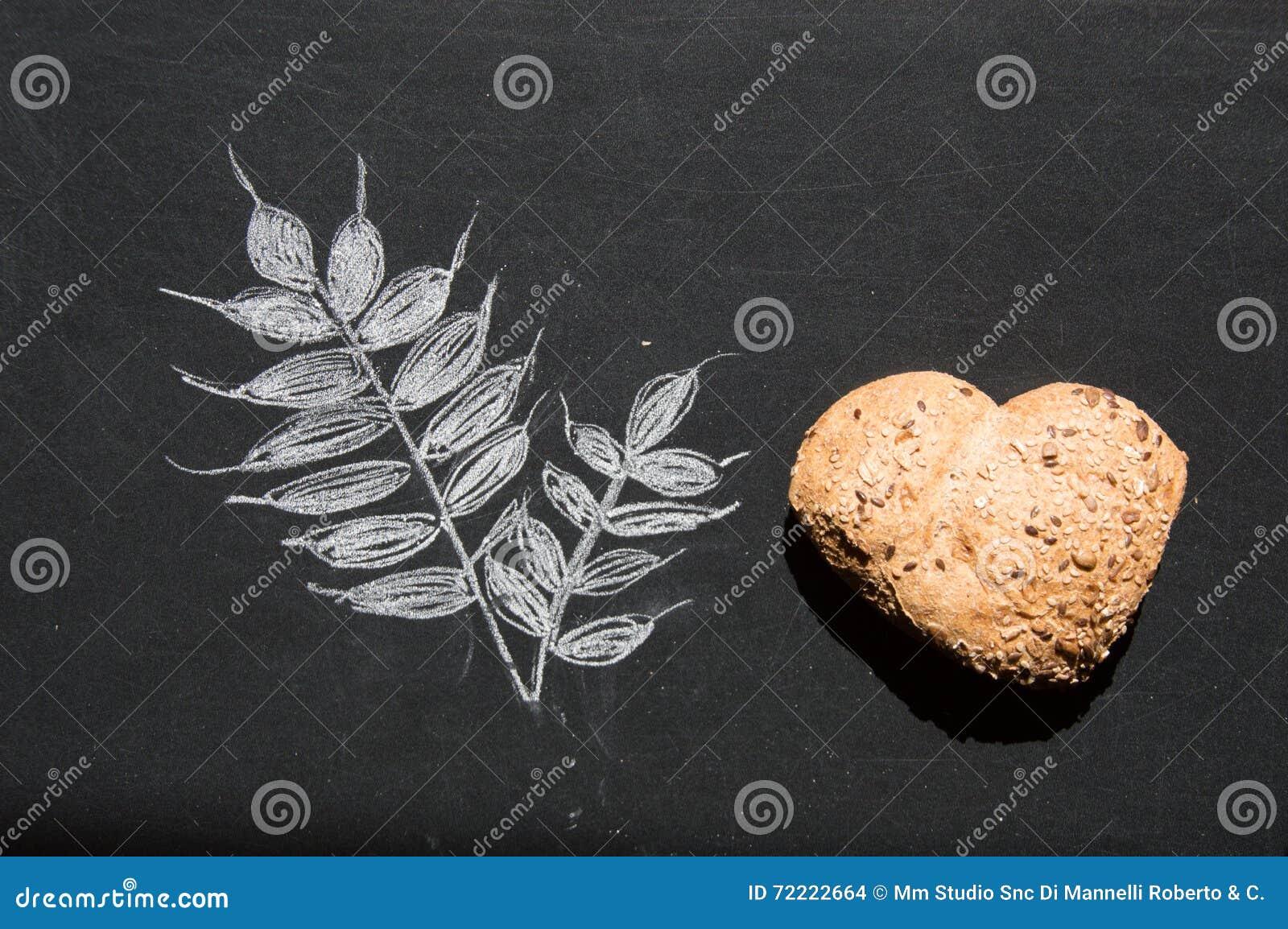 爱和激情全麦面包的