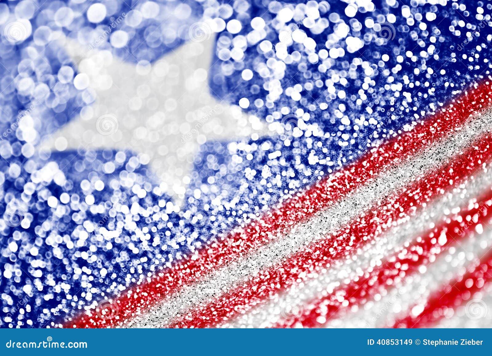 爱国美国背景的标志