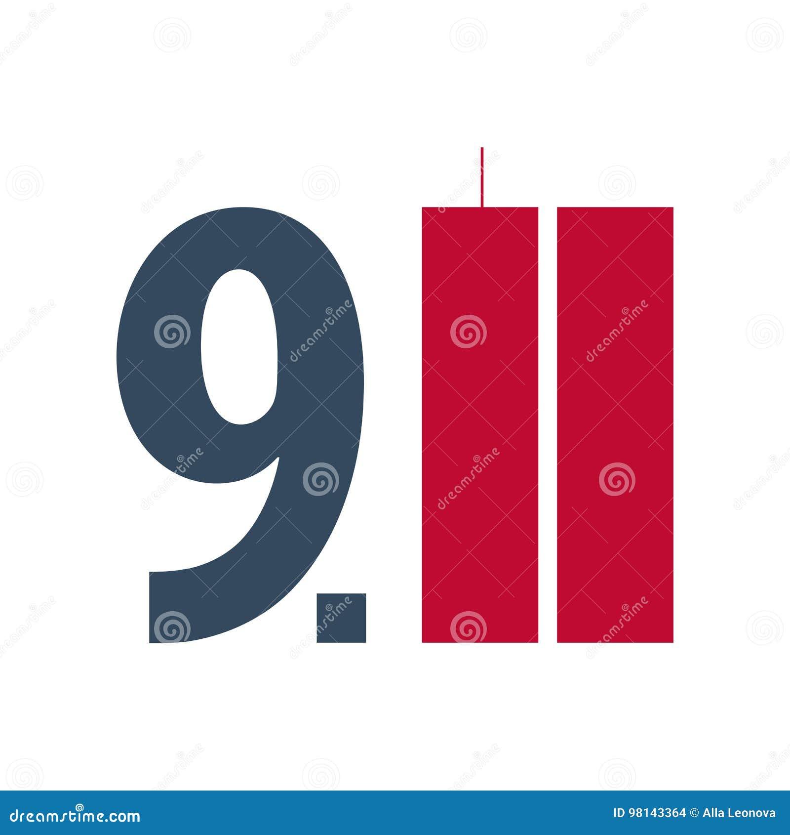 爱国者天象征或商标 9月11日 我们不会忘记