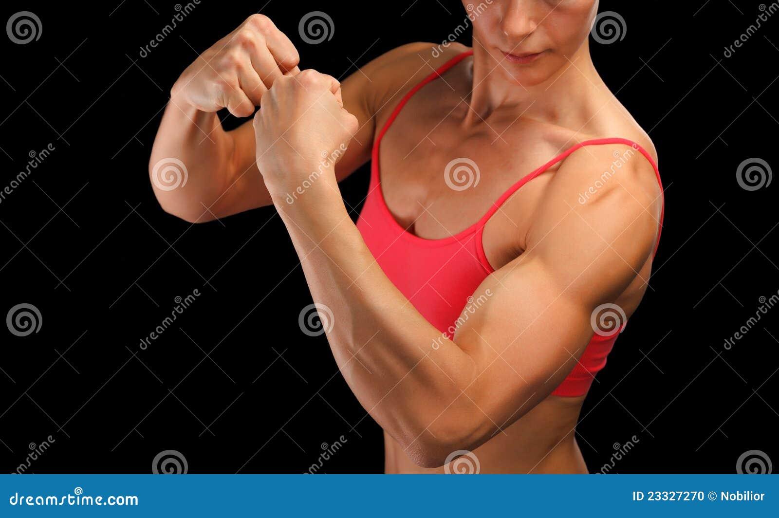 爱好健美者女性健身 库存照片 - 图片: 23327270